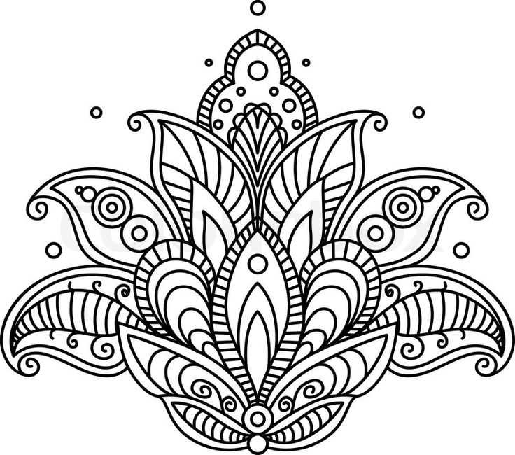 736x650 Flower Designs Patterns To Draw