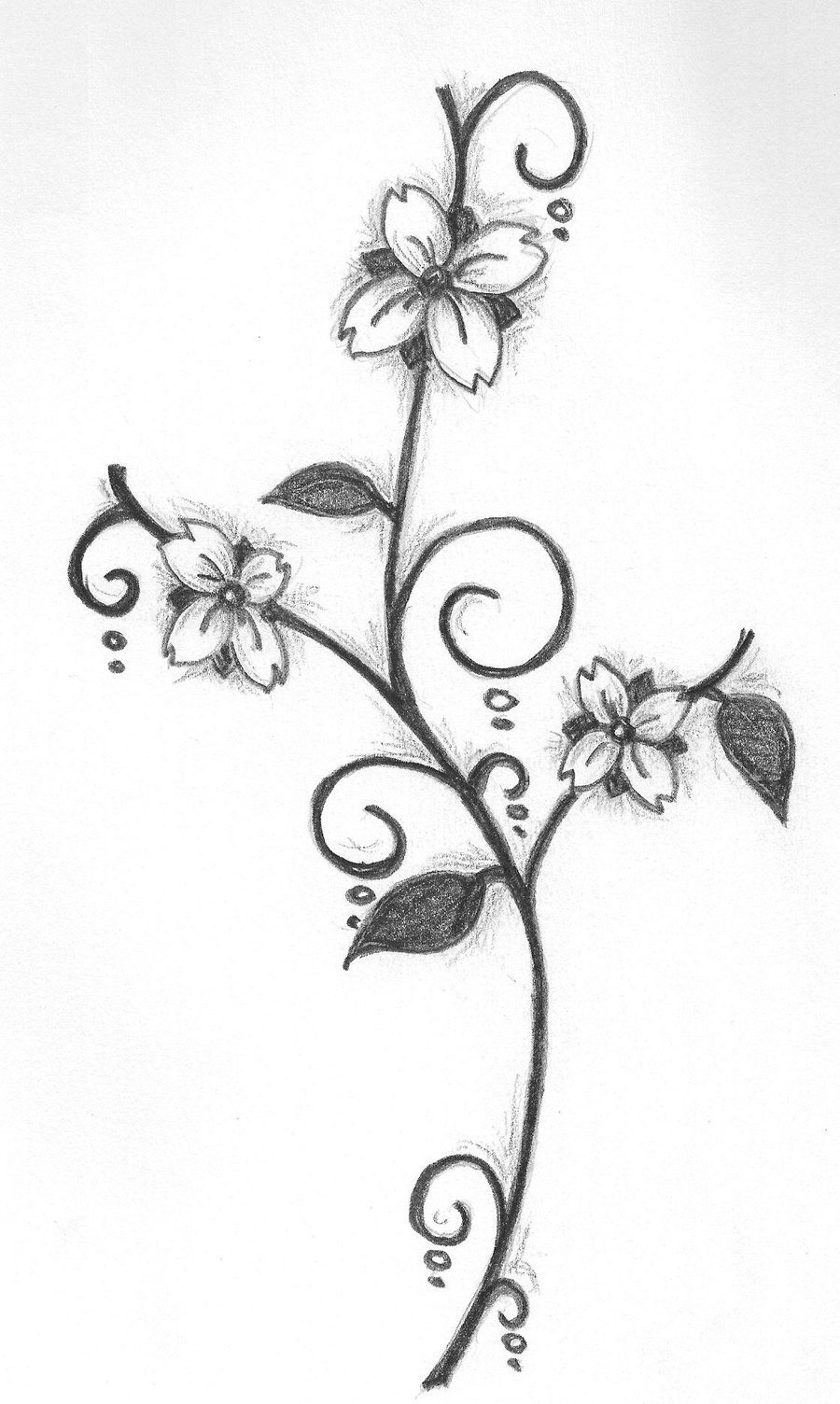 Flower Drawing Design At Getdrawings Com Free For Personal Use