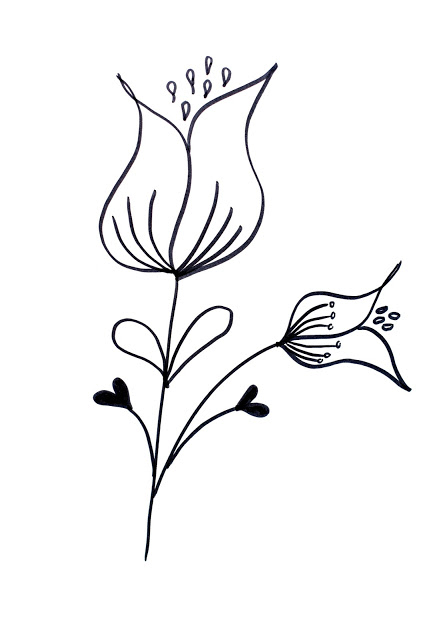 Flower Drawing Easy At Getdrawings Com Free For Personal Use
