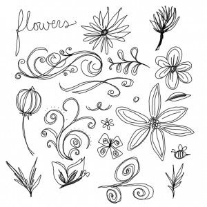 Flower Drawing For Beginners
