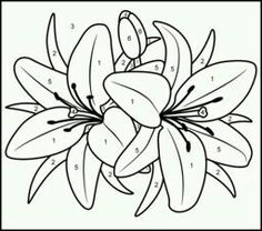 236x208 Black, Outline, Drawing, Flower, White, Flowers, Free Drawing
