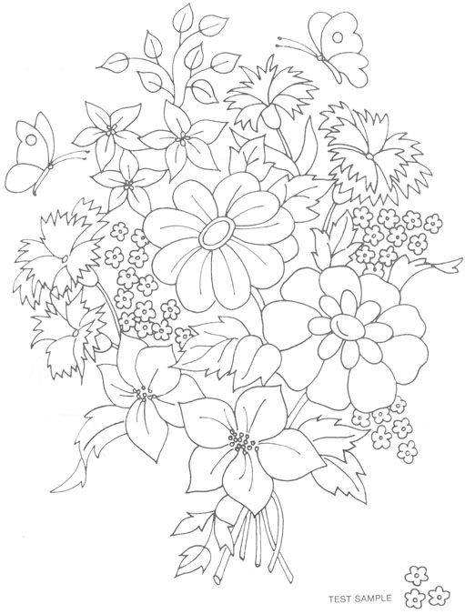 Flower Drawing Patterns At Getdrawings Com Free For Personal Use