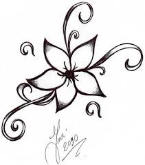 211x239 Drawings Of A Flower