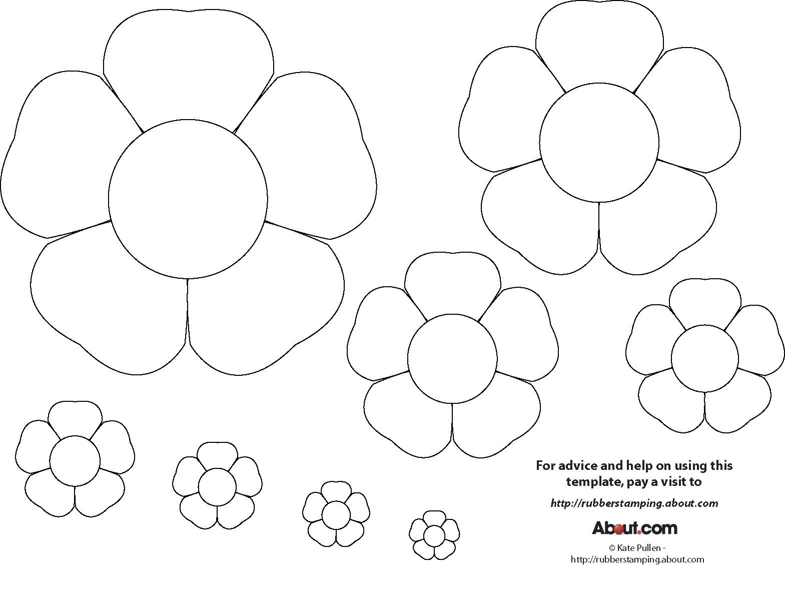 flower drawing template at getdrawings com free for personal use
