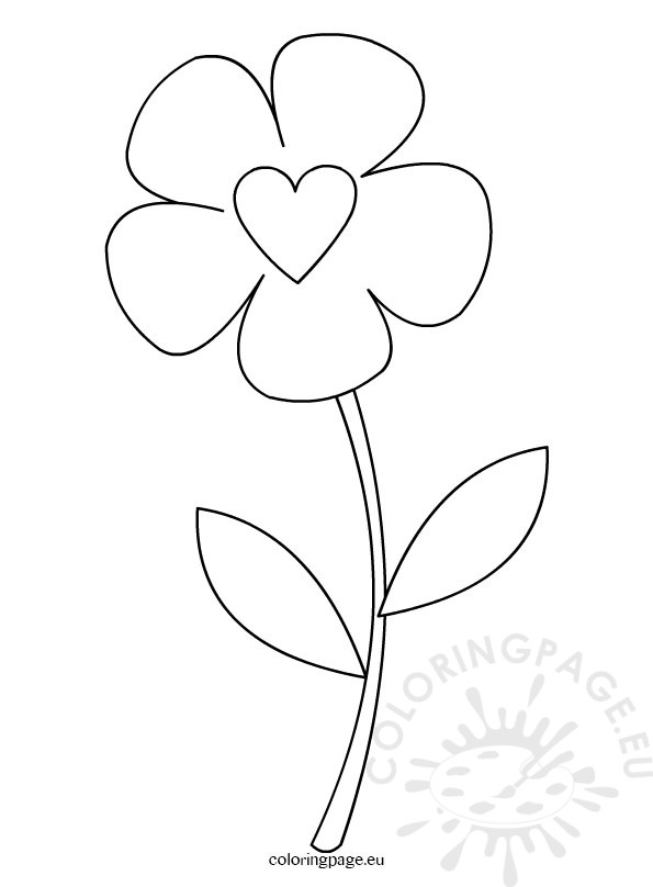 Flower Template | Flower Drawing Template At Getdrawings Com Free For Personal Use