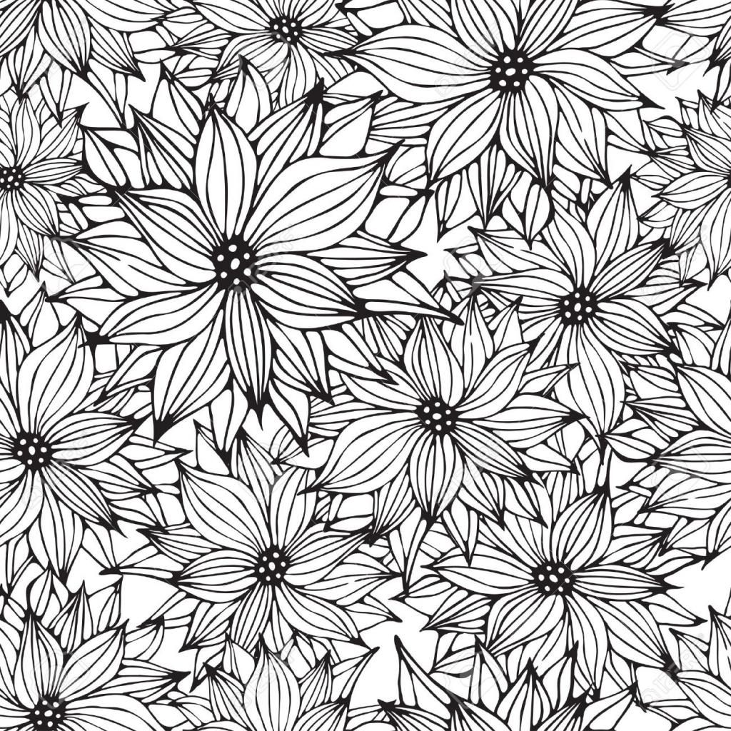 Flower Drawing Wallpaper At Getdrawings Free For Personal Use