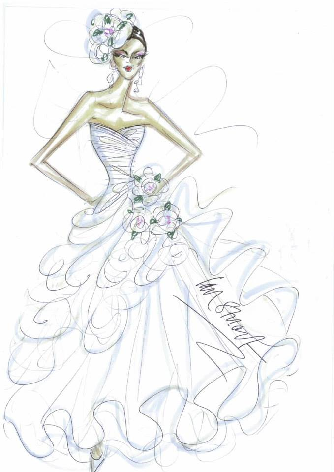679x960 Ian Stuart Beautiful Orginal Design Of Wedding Dress Coppelia