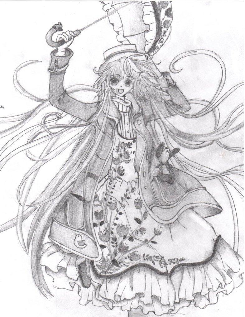 786x1017 Kobato's Flower Dress By Whitewing16