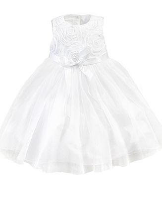 327x400 Marmellata Girls Dress, Little Girls Soutache Flower Girl Dress