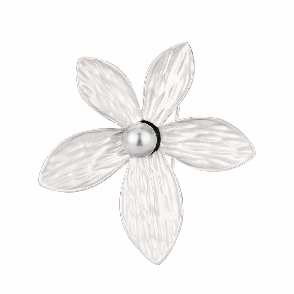 1000x1000 Simple Flower Shape Safety Brooches Pins For Women Dress Gift