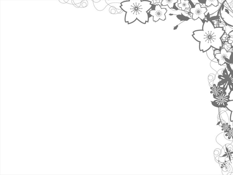 800x600 Foliage Flower Frame Backgrounds Presnetation