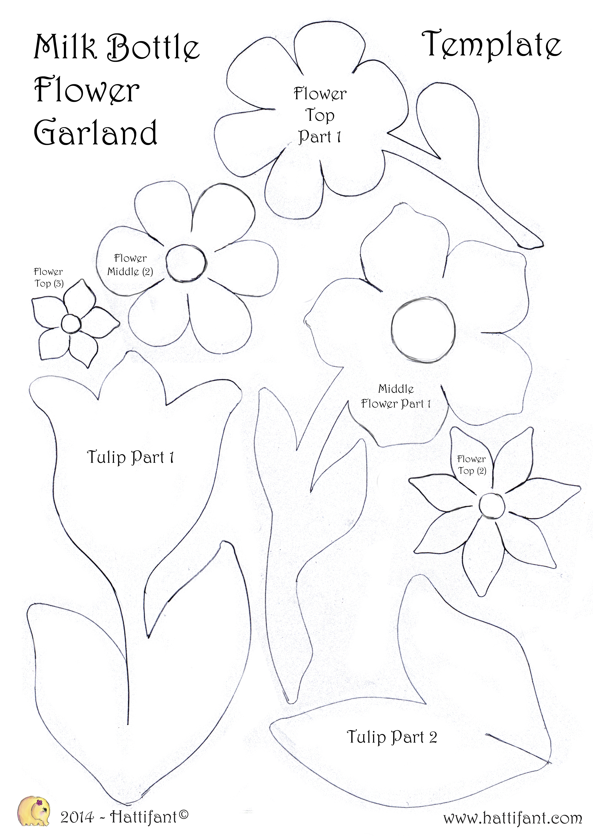 Flower Garland Drawing At Getdrawings Free For Personal Use