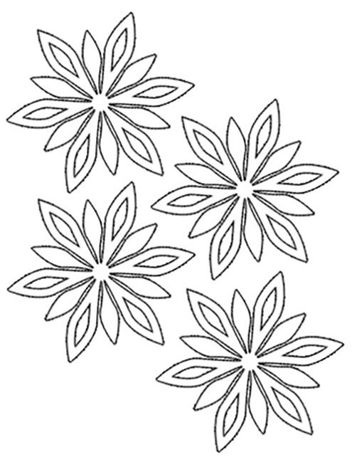 Flower Garland Drawing At Getdrawings Com