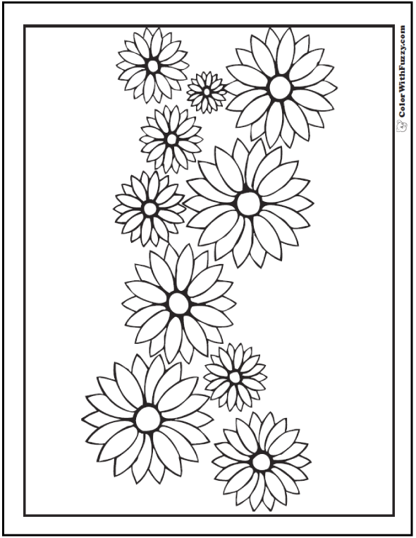 Flower Garland Drawing at GetDrawings.com | Free for personal use ...