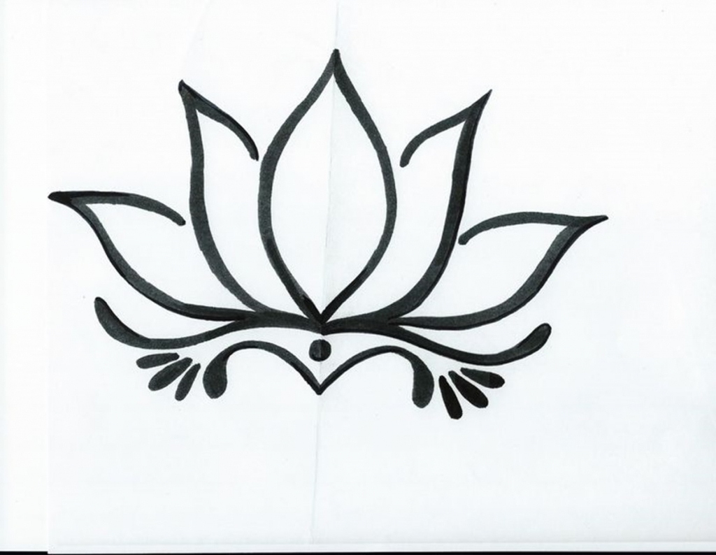 1024x794 Lotus Flower Images Drawings Lotus Flower Line Drawing Lotus
