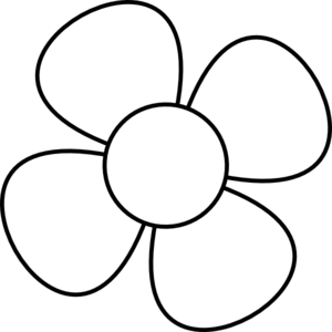 flower line drawing clip art free at getdrawings com free for rh getdrawings com black and white flower clip art images black and white flower clipart png