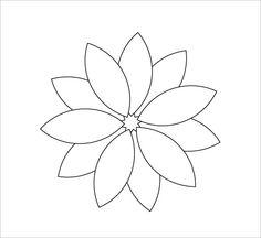 236x216 Flower Free Rhinestone Template Downloads Sun Flower Template