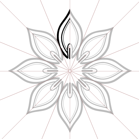 450x450 Create A Floral Ornament With Mirrorme And Illustrator