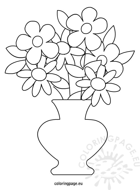 Flower Pot Drawing at GetDrawings.com | Free for personal use Flower ...