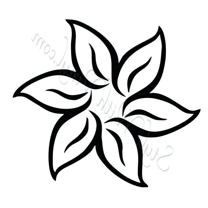 687x687 Easy Flower Coloring Pages Coloring Pages Draw Easy Flowers Flower
