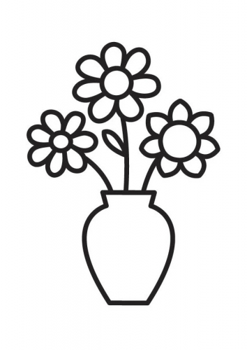 Flower Vase Drawing At Getdrawings Free For Personal Use