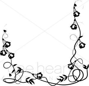 300x291 Trumpet Vine Border Wedding Flower Borders