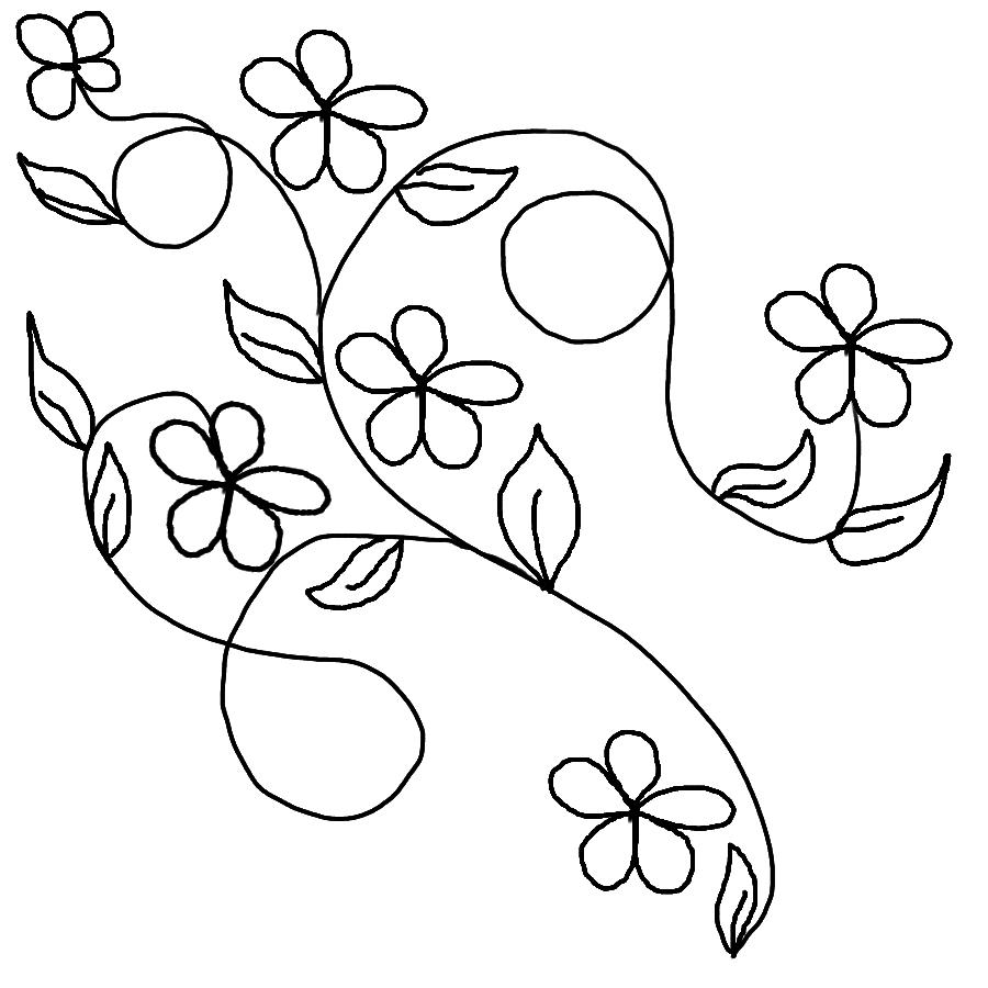 900x900 Easy Drawings Of Flowers And Vines Drawings Of Flowers And Vines