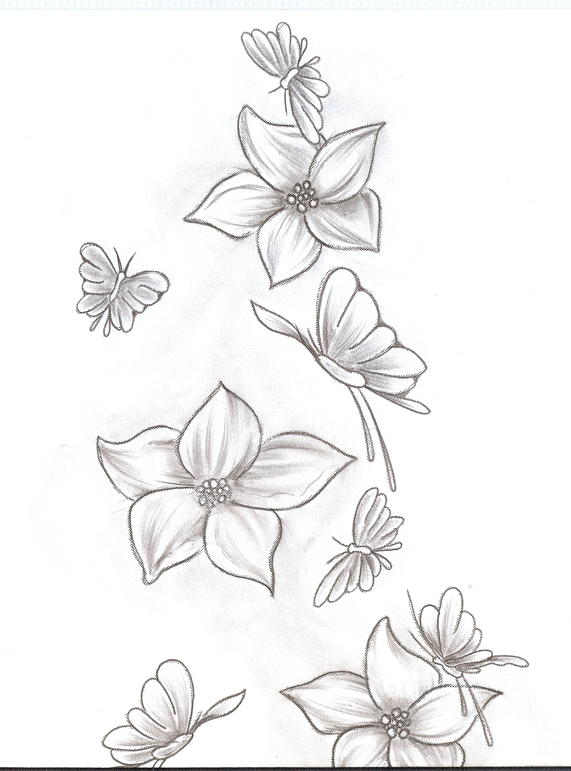 1880x2536 Flower And Butterfly Printables With Letter F Joshwa's Blog Koi