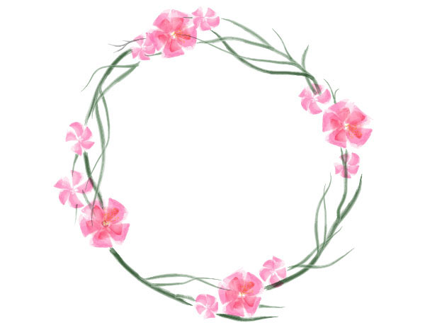 600x466 Create A Floral Watercolor Wreath In Adobe Illustrator