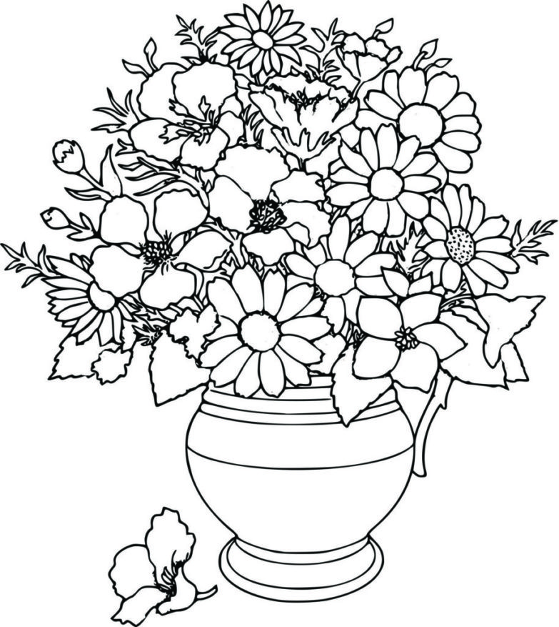 Flowerpot Drawing At Getdrawings Com Free For Personal Use
