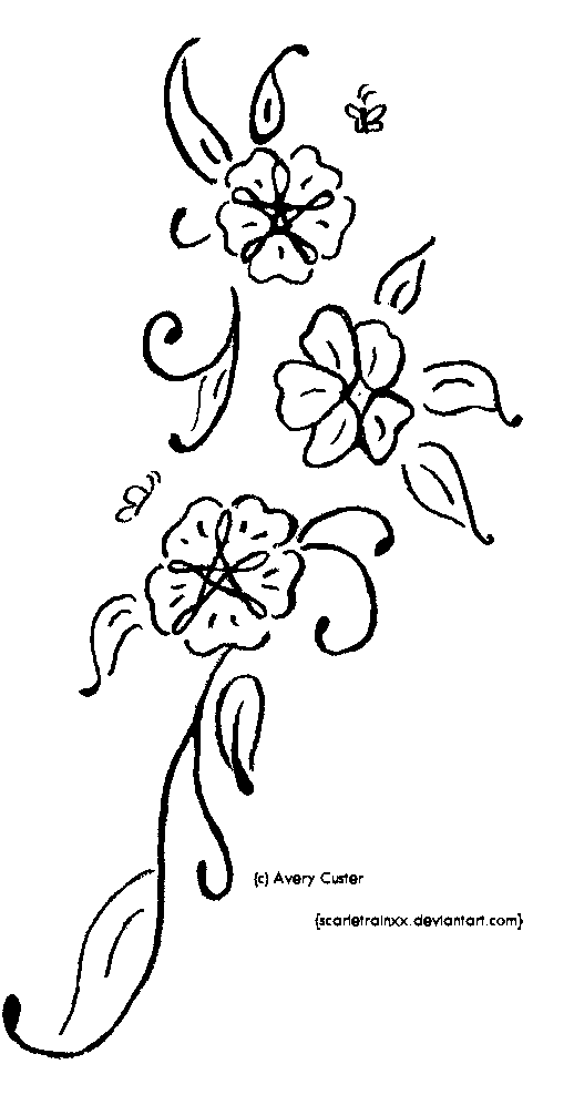 518x988 Easy Pencil Drawings Of Flowers And Vines Pics