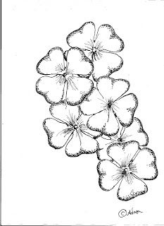 233x320 How To Draw Flowers Step By Step Easy She Began Posting Photos