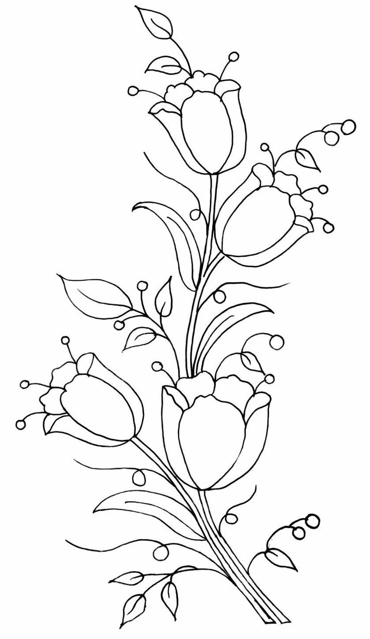 736x1270 Art Drawing Flowers Bells In Hd 112 Best How To Draw Flowers