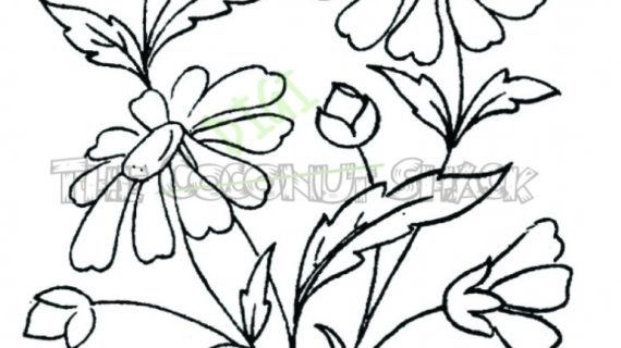 570x320 How To Draw A Bouquet Of Flowers Bouquet Drawing Tumblr Bouquet