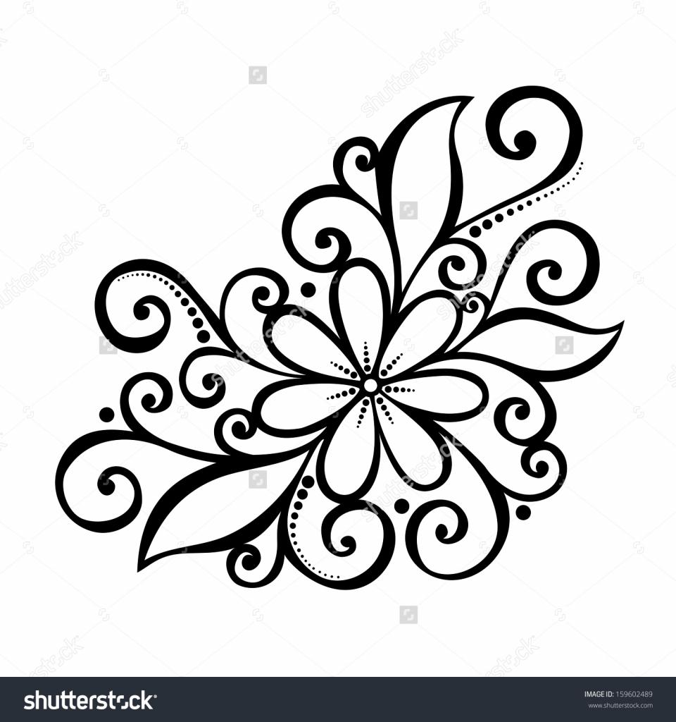 960x1024 Cute Drawings Flowers