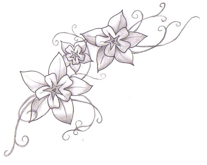 788x630 Tattoo Flower Galery