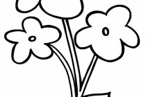 210x140 Easy Flower Drawings For Kids Simple Flower Drawing For Kids How