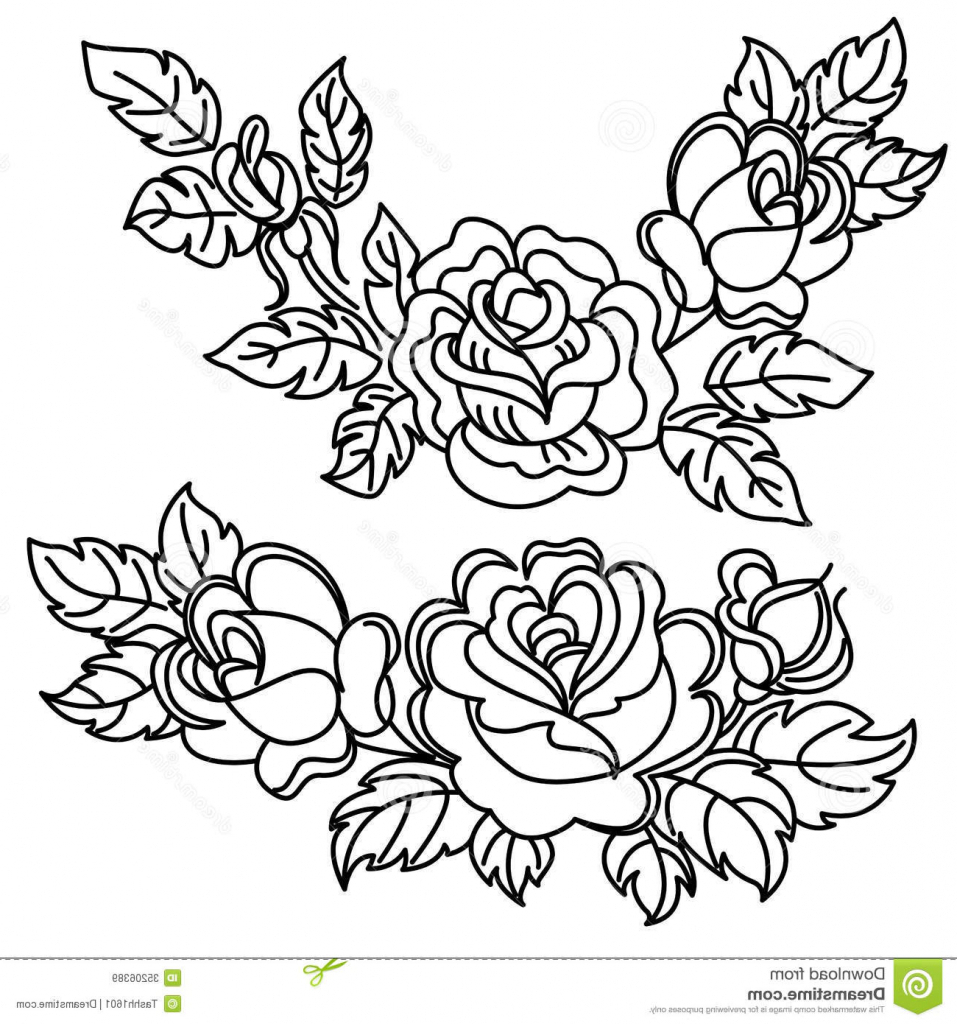 957x1024 Rose Flowers Drawing Flower Drawings In Black And White Rose