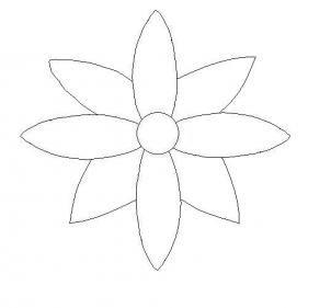 302x281 Easy Drawings Of Flowers