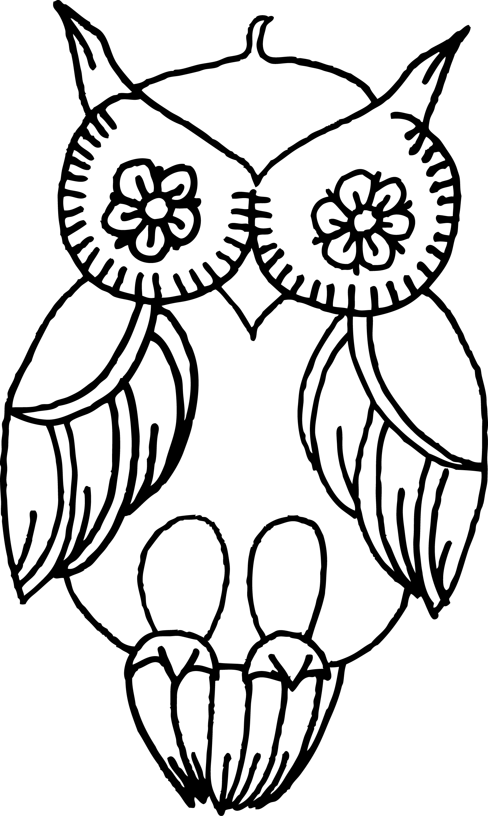 1611x2690 Easy Flowers To Draw For Beginners