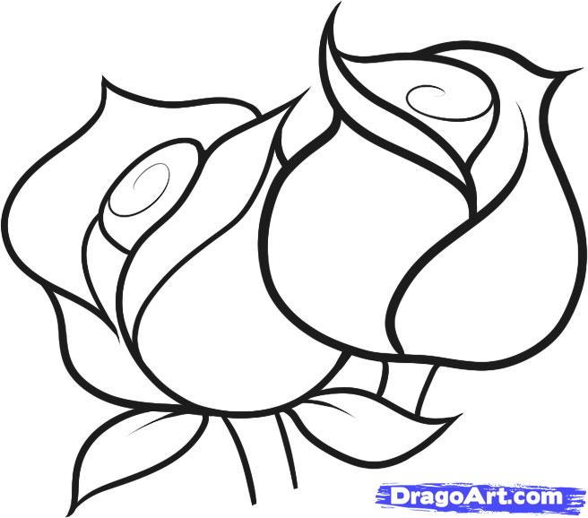 656x578 Drawing Pictures For Kids Flowers Drawing For Kids Free Download