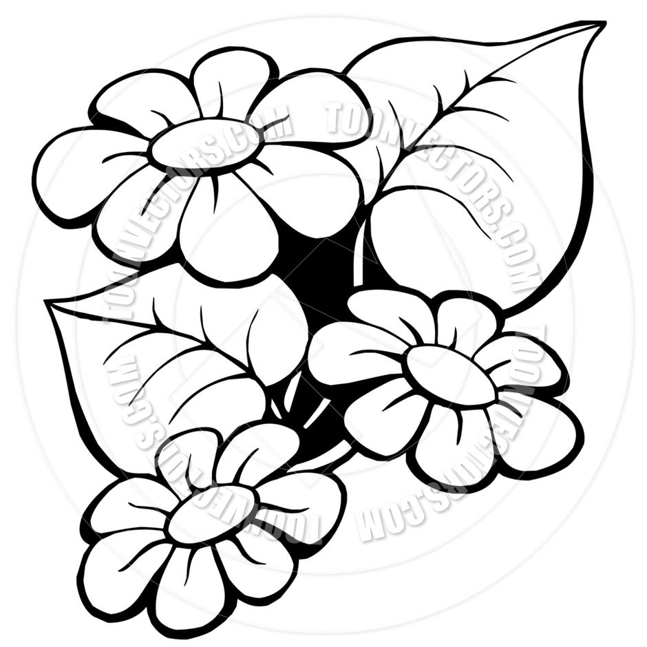 940x940 Easy Cartoon Flowers Drawing