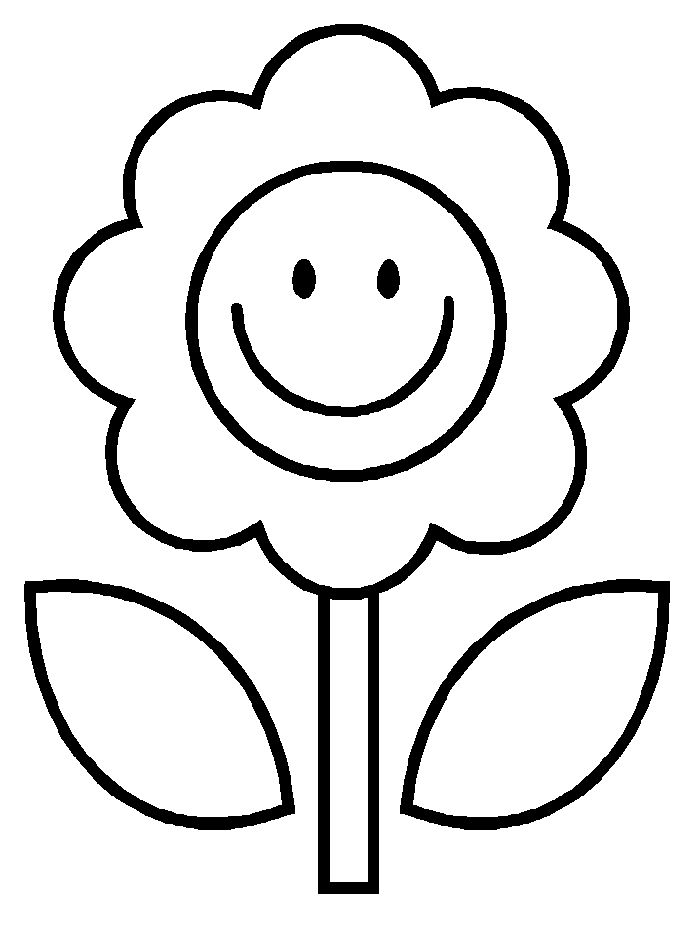 Flowers For Kids Drawing at GetDrawings.com | Free for personal use ...