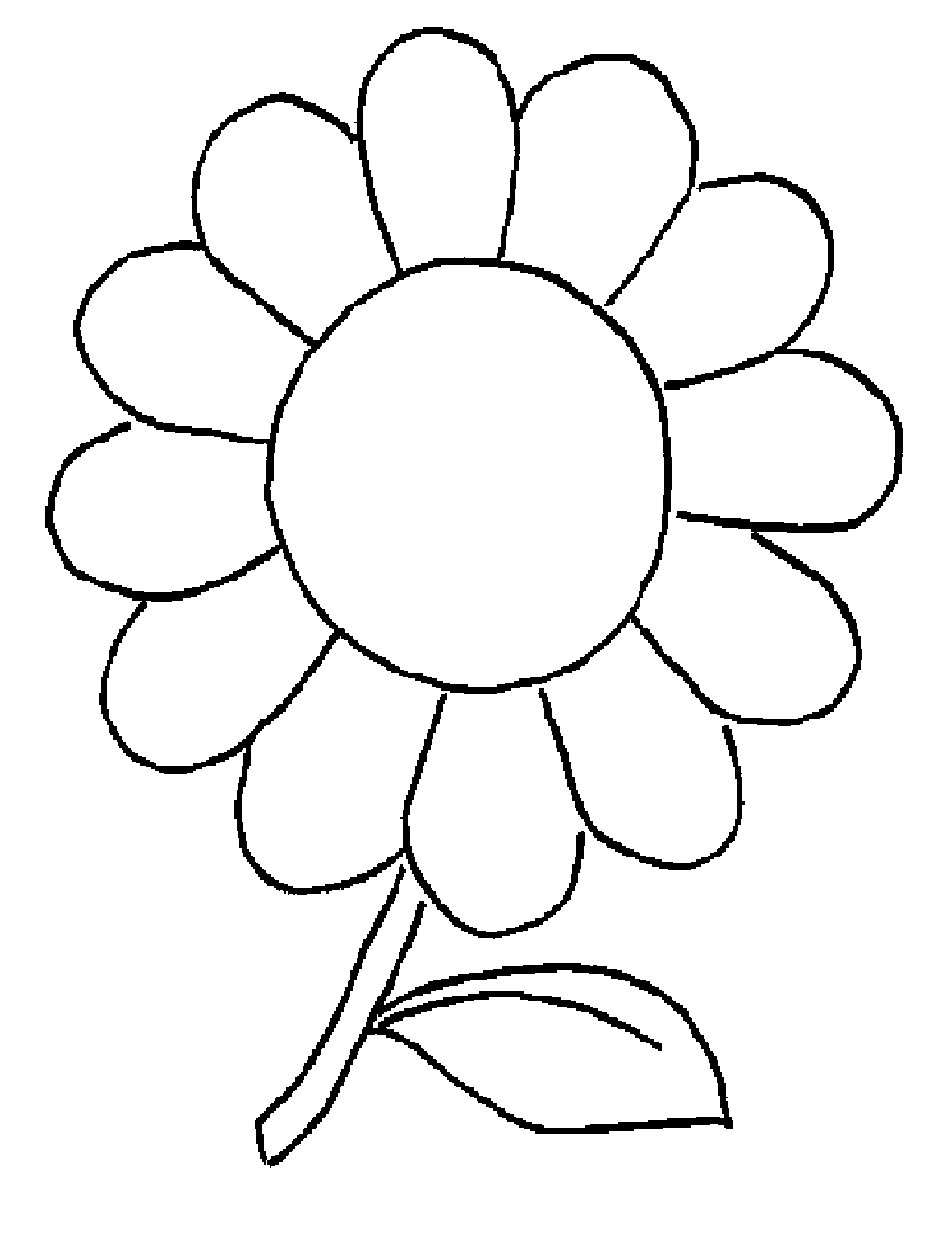 925x1253 95 Flowers Drawings For Kids