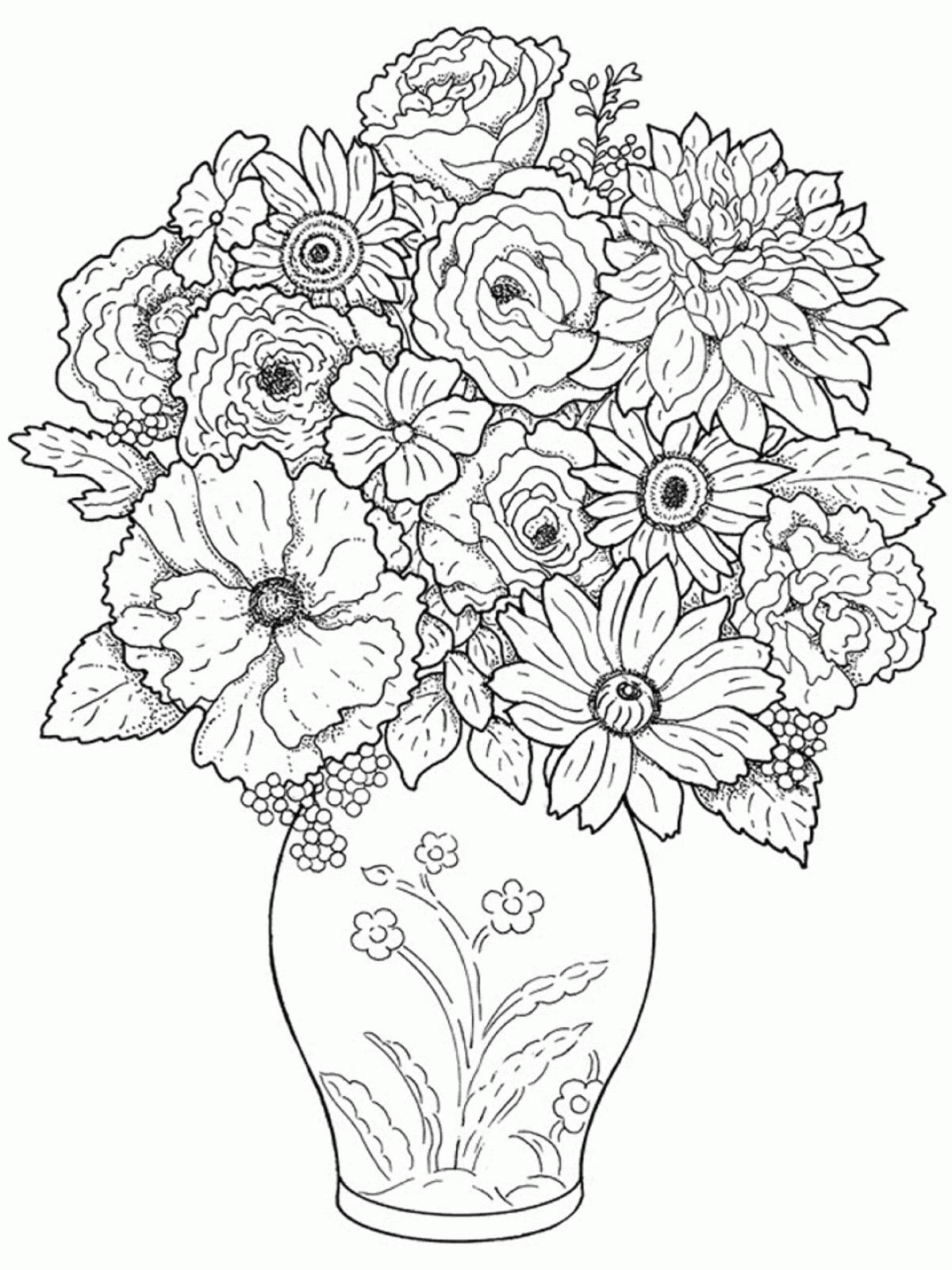 1200x1600 Hd Pencil Drawings Of Flower Pot Designs Drawings Of A Flower Pot