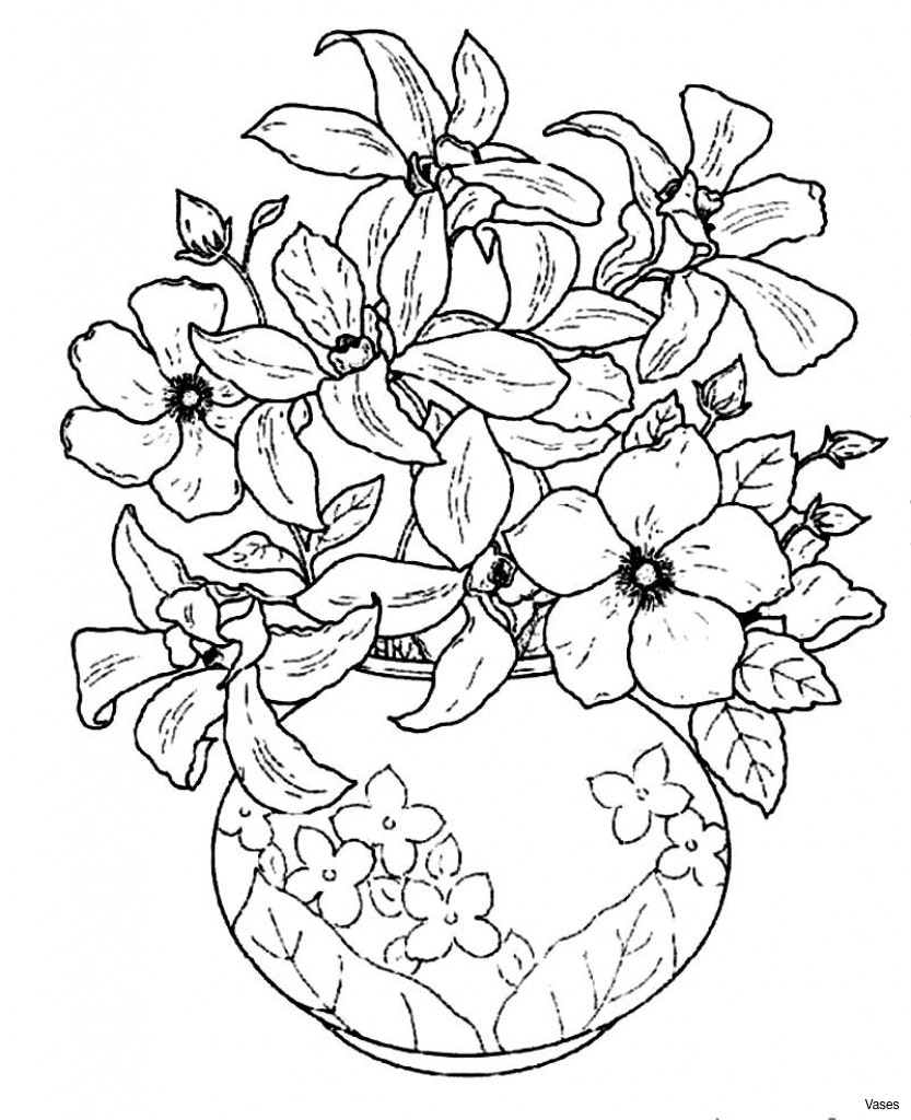 833x1024 Vases How To Draw Vase Of Flowers Incoming H4 Pencil Art Images