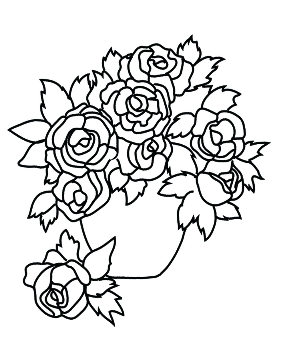 1004x1222 Printable Bouquet Of Flowers Printable