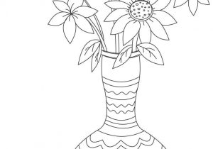 300x210 Drawing Picture Flower Vase Drawn Vase Full Flower