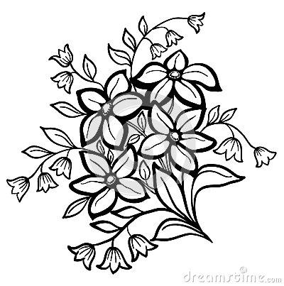 400x403 Black And White Sunflower Drawing Beautiful Flower Arrangement