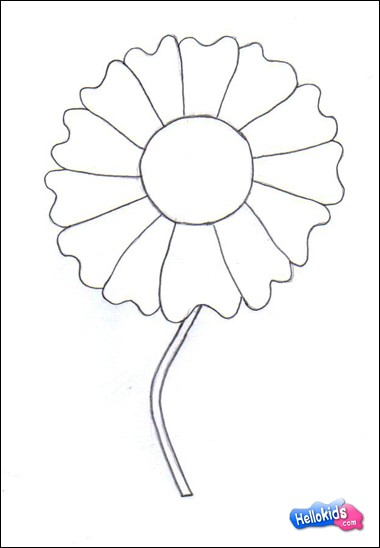 380x548 How To Draw How To Draw A Nice Flower